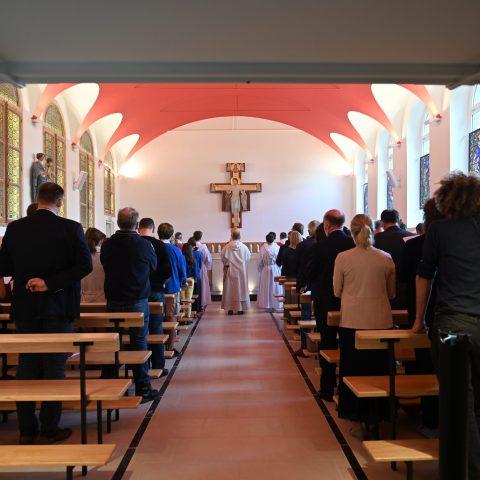Inauguration de la Chapelle Pie X